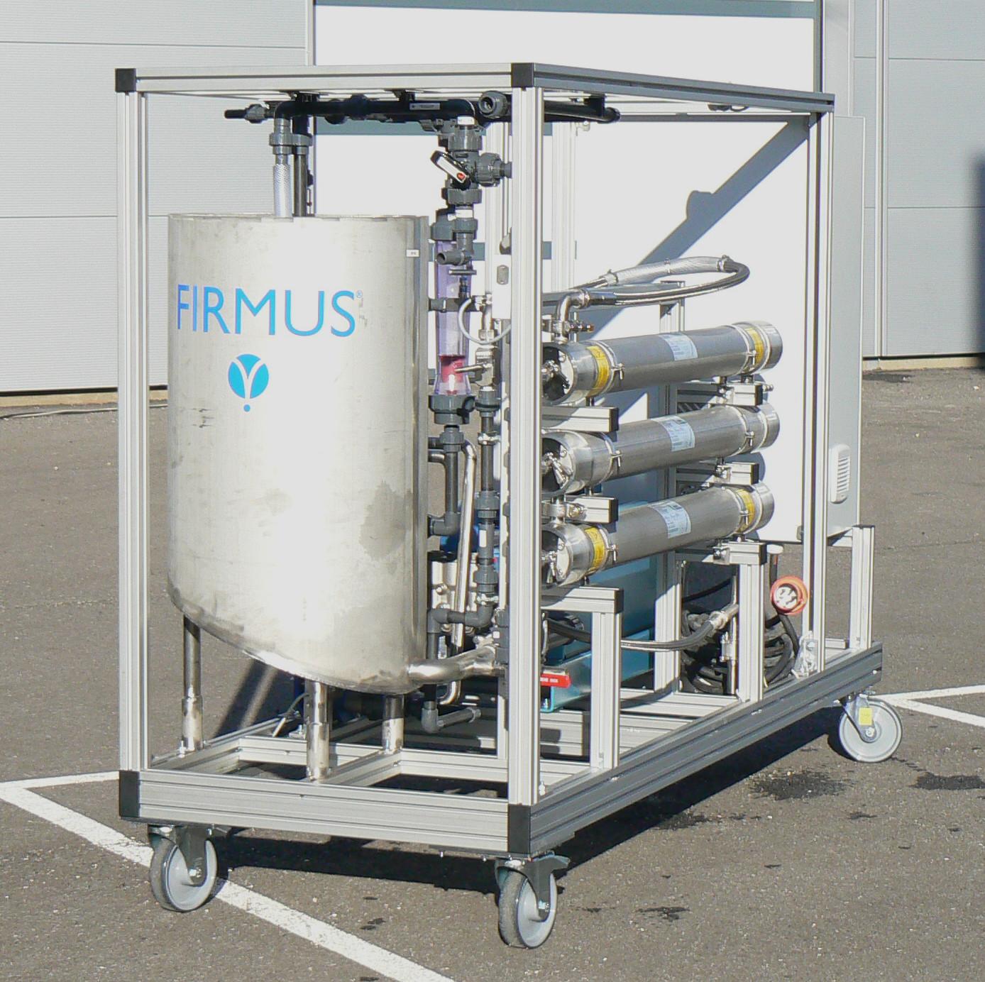 Location Pilote Mobile De Filtration Par Osmose Inverse