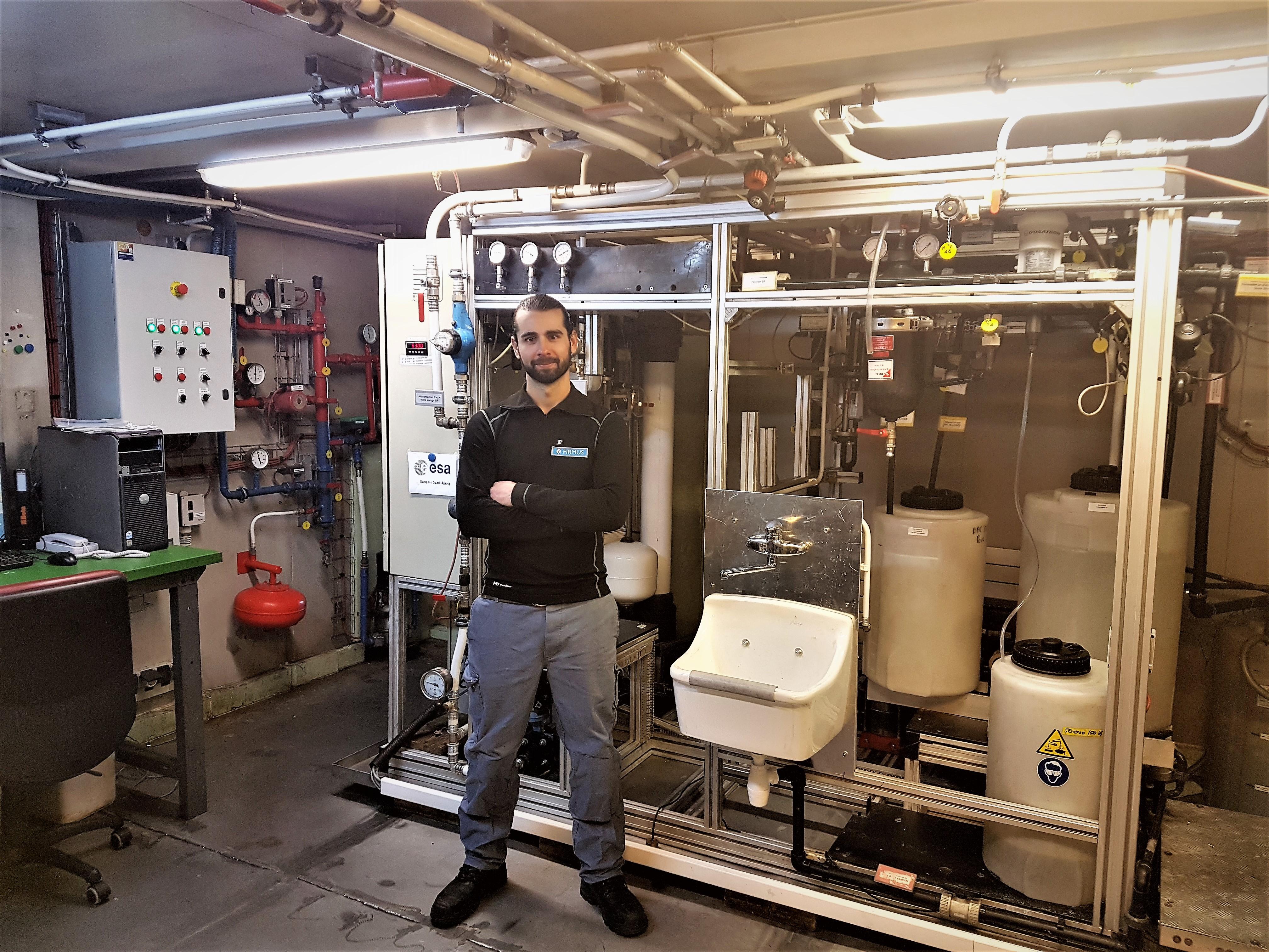 Remise à Niveau Du Procédé De Recyclage Des Eaux Grises Sur La Station Antarctique Concordia