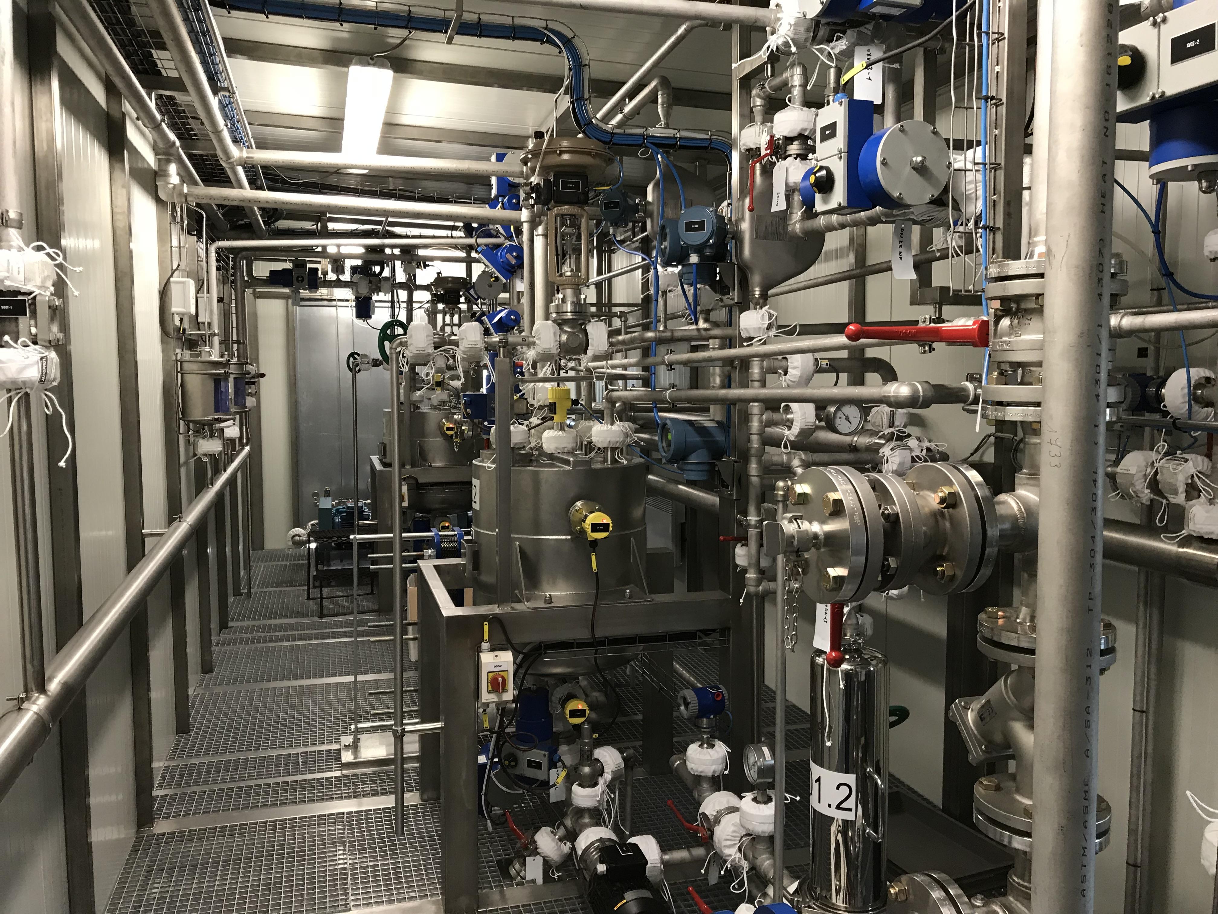 Mise En Service D'une Unité Industrielle D'osmose Inverse Double Passe