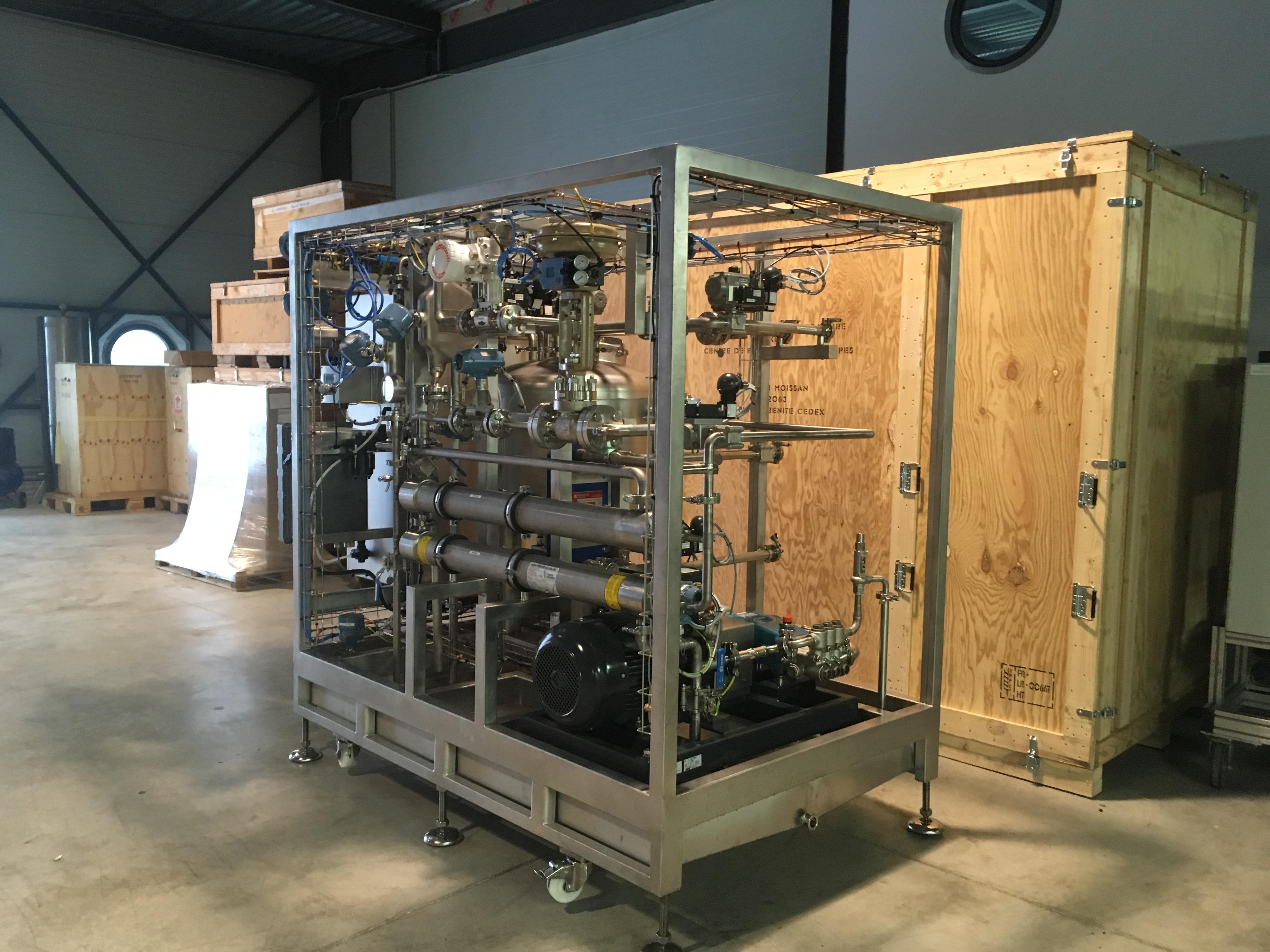 Livraison D'un Pilote Osmose Inverse / Nanofiltration Version ATEX